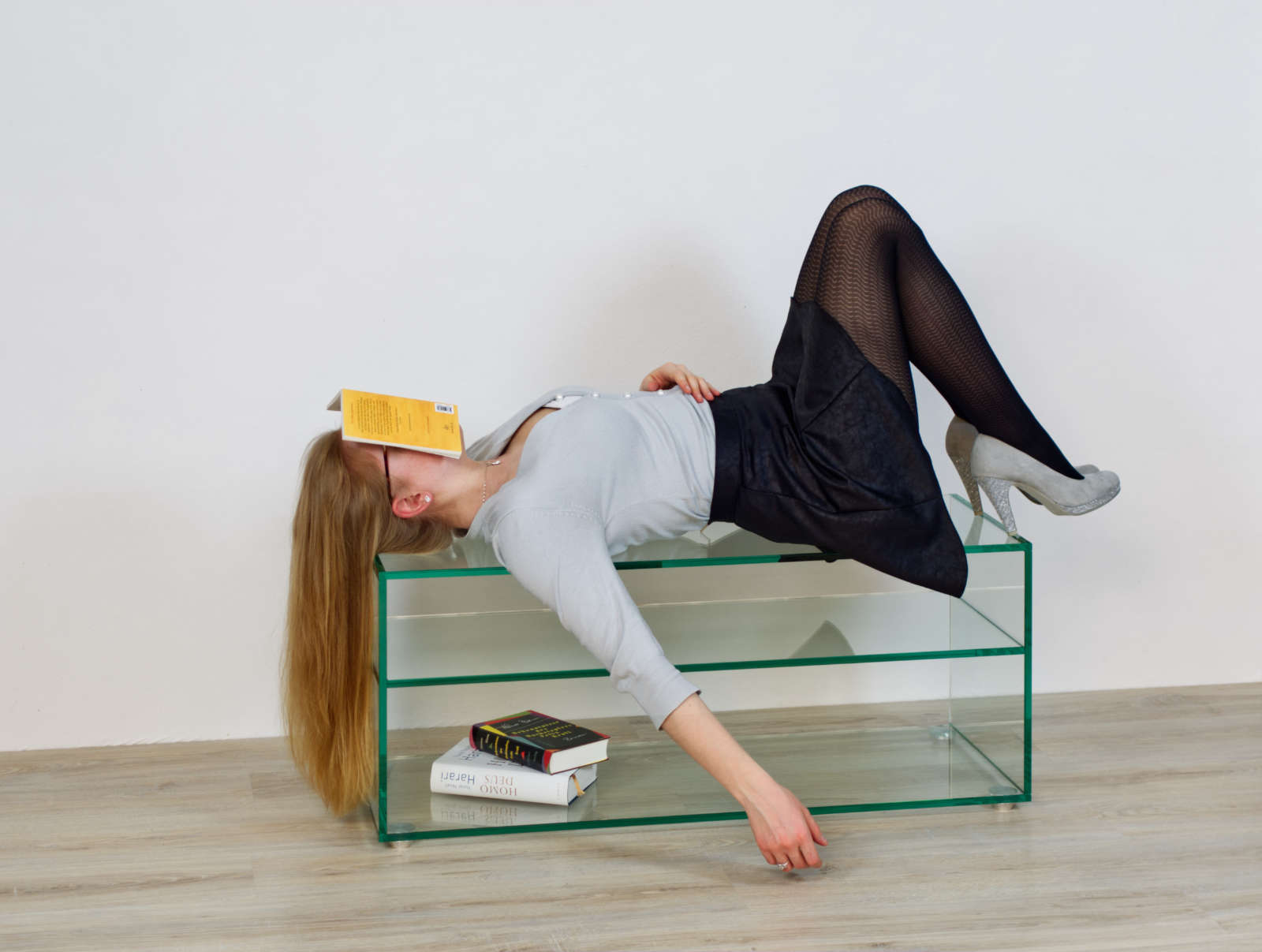 Glasmöbel sind auch zum Chillen geeignet